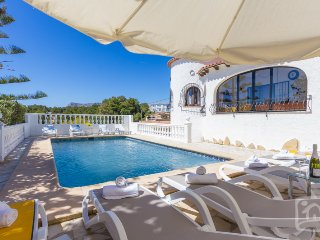 6 bedroom Villa in Benissa, Costa Blanca, Spain : ref 2246601