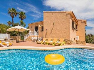 4 bedroom Villa in Calpe, Costa Blanca, Spain : ref 2246606