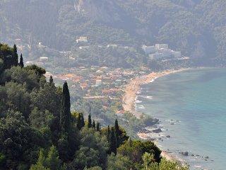 seaside studio near center & beach 2-3 p, Agios Gordios