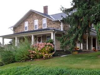 Historic Stone Farmhouse Recently Renovated, Penn Yan