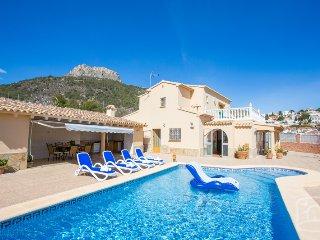 4 bedroom Villa in Calpe, Costa Blanca, Spain : ref 2287060