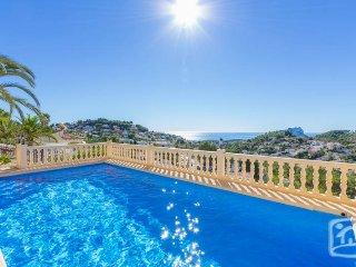 4 bedroom Villa in Benissa, Costa Blanca, Spain : ref 2287066, La Llobella