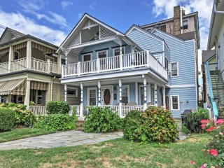 Ocean Grove Home on Beach Block - Near Asbury Park