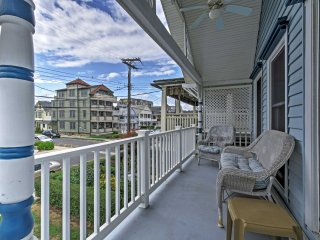 NEW! 1BR + Loft Ocean Grove Home on Beach Block!
