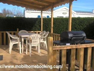 Mobil home 2 chambres 6 places maxi La Palmyre, La Palmyre-Les Mathes