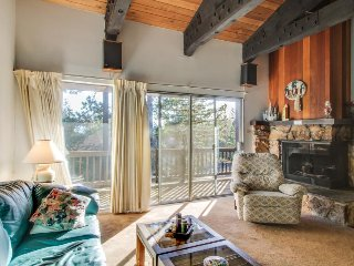 Sunny, dog-friendly condo w/ shared pool, hot tub, & sauna - close to the lake!