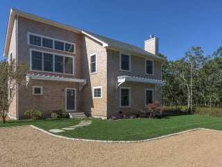 MASCJ - Rustling Oaks, Beautiful New Contemporary Home, Private Yard , Close to, West Tisbury