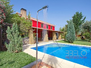 Luxury Villa with swimming pool and BBQ, Prazeres
