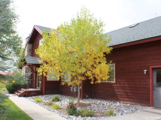 Flying M&M; is a spacious town home right on the golf course in Pagosa Springs, perfect for your vacation.
