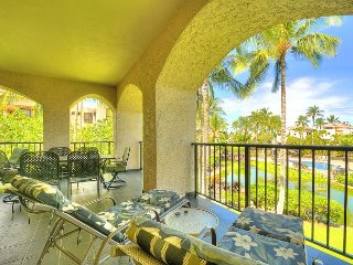 Shores #213  'Awesome Stay' Huge Lanai w/BBQ- Special-, Waikoloa