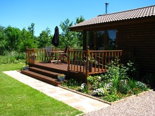 OAKVI Log Cabin in South Molto, Stoke Rivers