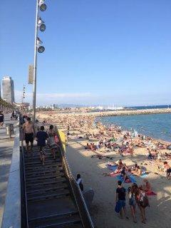 Barceloneta close to the Beach