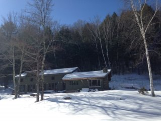 Secluded home, Private Beach/Pond, Arkville