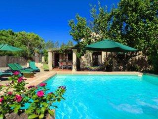 Acogedora finca con piscina y jardín muy tranquila, Manacor