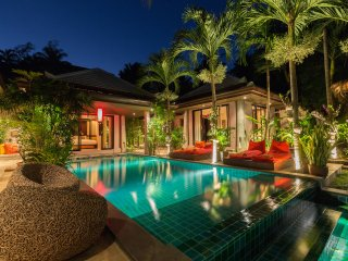 Villa Samprasada---Balinese Luxury in Bophut Hills of Koh Samui