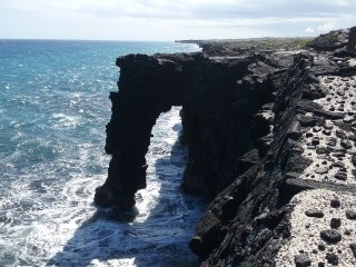Holei Sea Arch, Chain of Craters Road, HVNP, Volcano