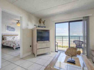 Delightful Ormond By the Sea Beach Condo-4th Floor, Direct Oceanfront View, Swim