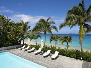 Luxury 8 bedroom St. Barts villa. Located on Flamands beach!, St. Barthelemy