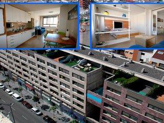 APARTAMENTO ESTUDIO CENTRO CIUDAD-WIFI 24H-TV MOV.