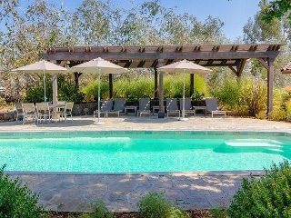 Gracious Living, Pool, and Privacy in Wine Country Near Old Sonoma
