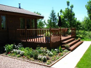 ISLVI Log Cabin in South Molto, Stoke Rivers