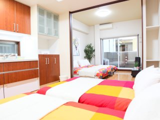 1-Bedroom Apartment  for 8 people - Master's Residence Dotonbori II, M2-802