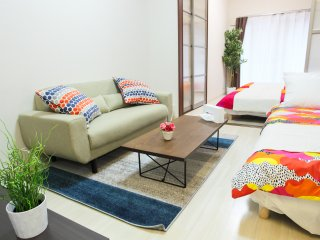 1-Bedroom Apartment for 8 People! Master's Residence Dotonbori III, M3-204