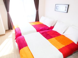 1-Bedroom Apartment for 4 People! Maison de Nomura Shimanouchi,  N-212