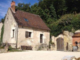 Maison tourangelle proche châteaux 5personnes, La Croix-en-Touraine