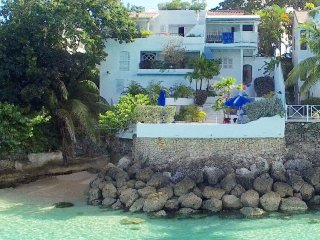 Ocean Blues Secure, private property, dramatically built within rock face overlooking Caribbean Sea
