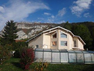 TARA - Splendide appartement esprit chalet - Piscine chauffee - Vue sur Geneve