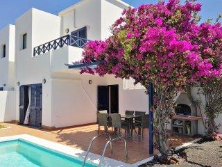 Villa Kalandraka 3 habitaciones y piscina privada, Playa Blanca