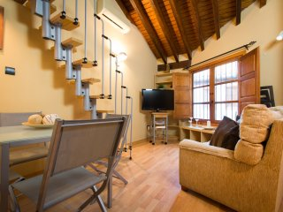 Quiet duplex apartment in centre Malaga
