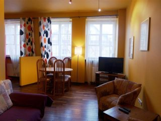 Piwna Gold apartment in Stare Miasto with WiFi.