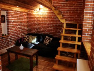 Red Brick apartment in Kazimierz with WiFi & lift.