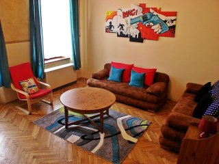 American Dream apartment in Kazimierz with WiFi & lift., Cracóvia
