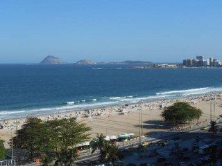 A Deslumbrante Vista da Praia de Copacabana