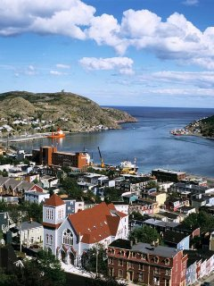 The beautiful Harbour and Battery of St. John's