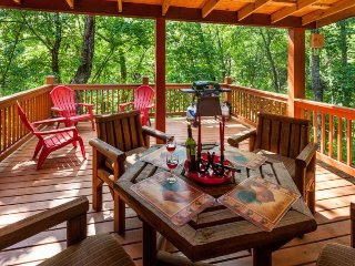 Bear`s Den -Cozy, All Paved Access, Ellijay