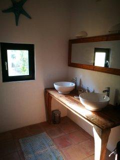 Bathroom from studio