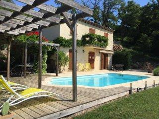 Bastide de 130 m² avec piscine & vue sur verdure