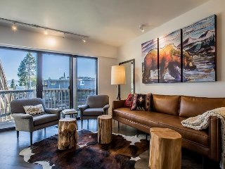 Marina Modern - Après Ski, Cozy up to 2 Fireplaces, Waterfront, Boat Slip, South Lake Tahoe