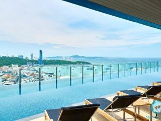 THE BASE,30tht floor 2BD with stunning views!!!, Pattaya