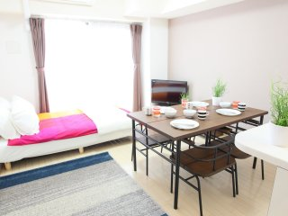 2-Bedroom Apartment for 10 People! Maison de Nomura Shimanouchi、N-906