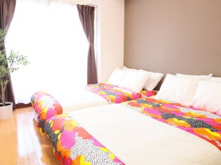 1-Bedroom Apartment for 8 people - Master's Residence Dotonbori III, M3-606