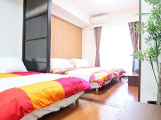 1- Bedroom Apartment for 7  People - Master's Residence Dotonbori,  M-405