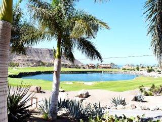 Luxury villa overlooking the golf course.
