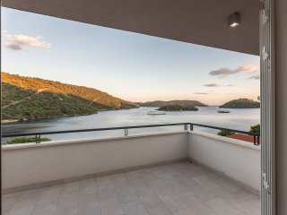 Apartment nature park Lastovo Pasadur beachfront