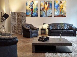 ARTY LOFT - confortable 82 m² à Budapest Centre