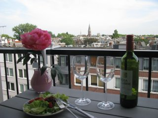 New studio with roofterrace at Albert Cuypstreet, Amsterdam